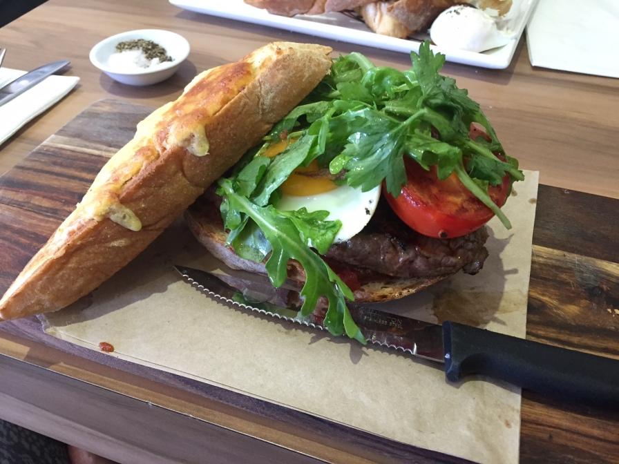 Sayers Sister - Steak Sandwhich